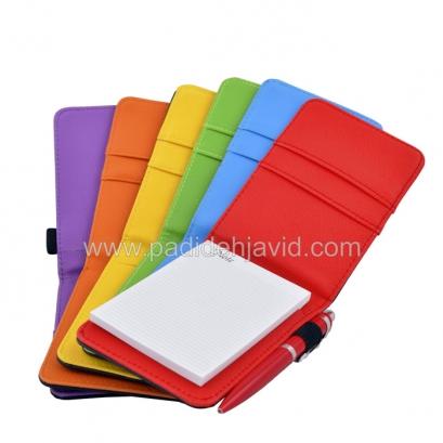 20 دفترچه یادداشت چرمی با خودکار