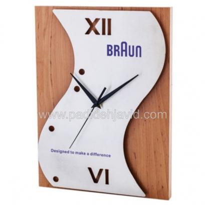 43 ساعت دیواری چوبی 5173