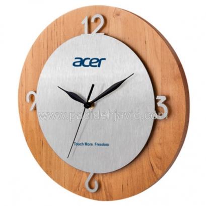 ساعت دیواری چوبی 5176