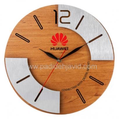 ساعت دیواری چوبی 5185