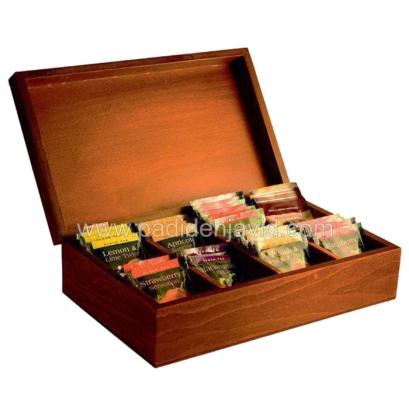 جعبه پذیرایی تبلیغاتی چوبی 704