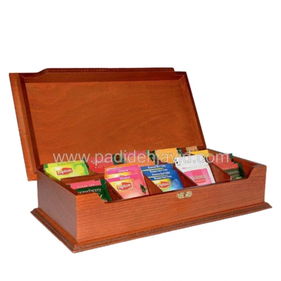 29 جعبه پذیرایی تبلیغاتی چوبی 705