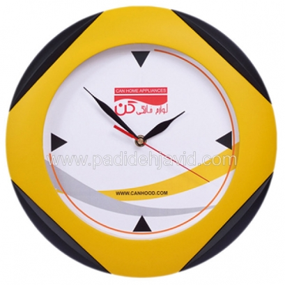 ساعت دیواری تبلیغاتی دیبا