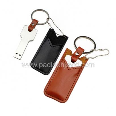 فلش مموری کلیدی با کیف چرمی 16 گیگ