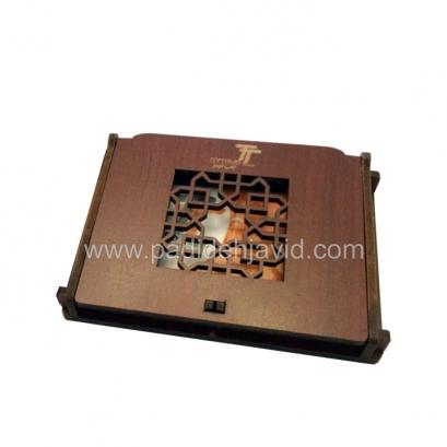 جعبه چوبی فلش مموری کارتی 01