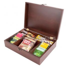 جعبه پذیرایی تبلیغاتی چوبی 718b