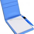 دفترچه یادداشت چرمی با خودکار
