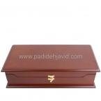 جعبه پذیرایی تبلیغاتی چوبی 705